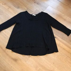 Everleigh thermal black A line top